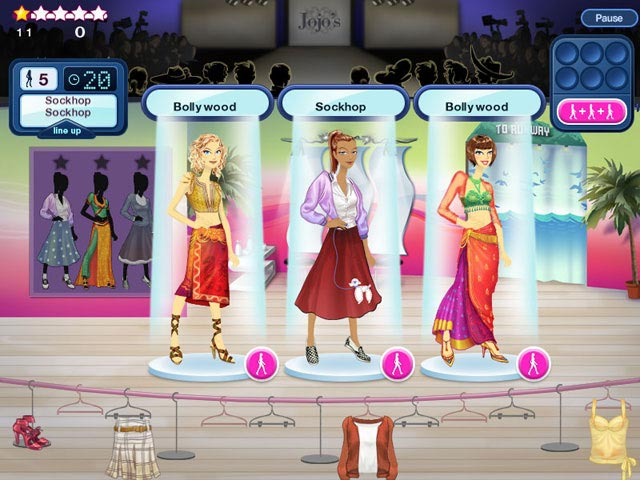 Around The World Fashion Show - Play The Girl Game Online